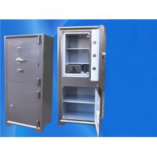 Çelik Para Kasası 125 Cm 220 Kg Dolaplı Gizli Bölmeli